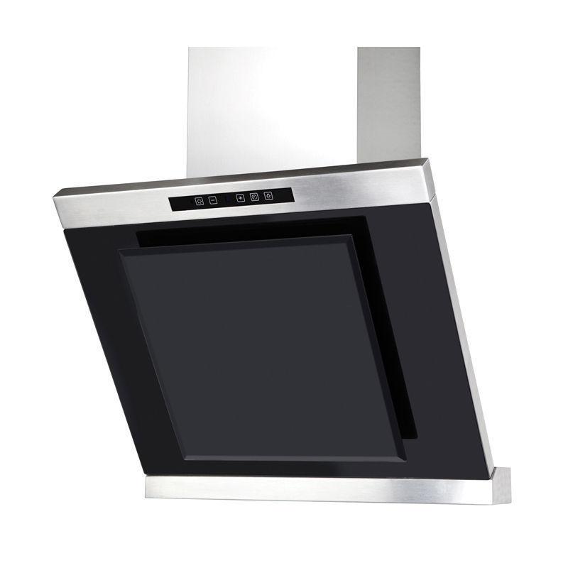 termikel freiburg 60 kopffrei inox glas wandhaube 60cm touchcontrol neusstec. Black Bedroom Furniture Sets. Home Design Ideas