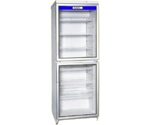 Kühlschrank Glastür : Exquisit cd350.2 glastür kühlschrank neusstec