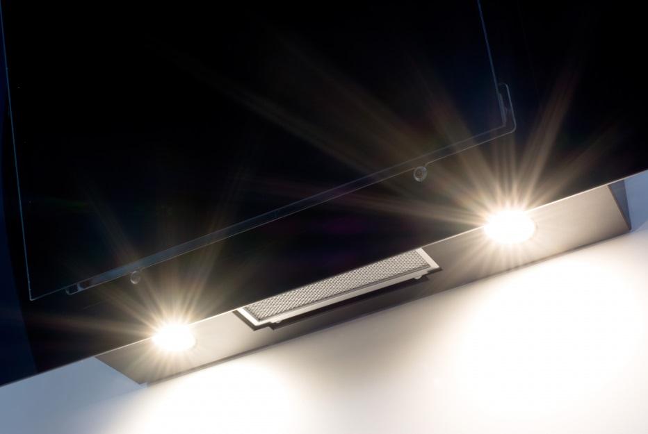 Cata thalassa 700 schwarz a u2013 elegante vertikale dunstabzugshaube