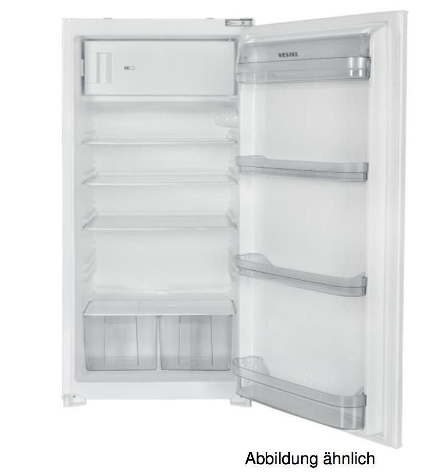 Vestel VEKF4015 – 399€ – Einbaukühlschrank mit Gefrierfach A+ 195L ...